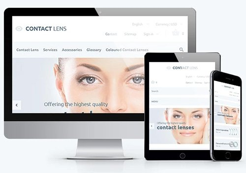 Contact Lenses v1.0 - PrestaShop 1.6.1.1 Theme - TM 58136