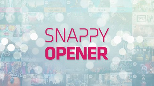 Snappy Opener - Project for After Effects (Videohive)
