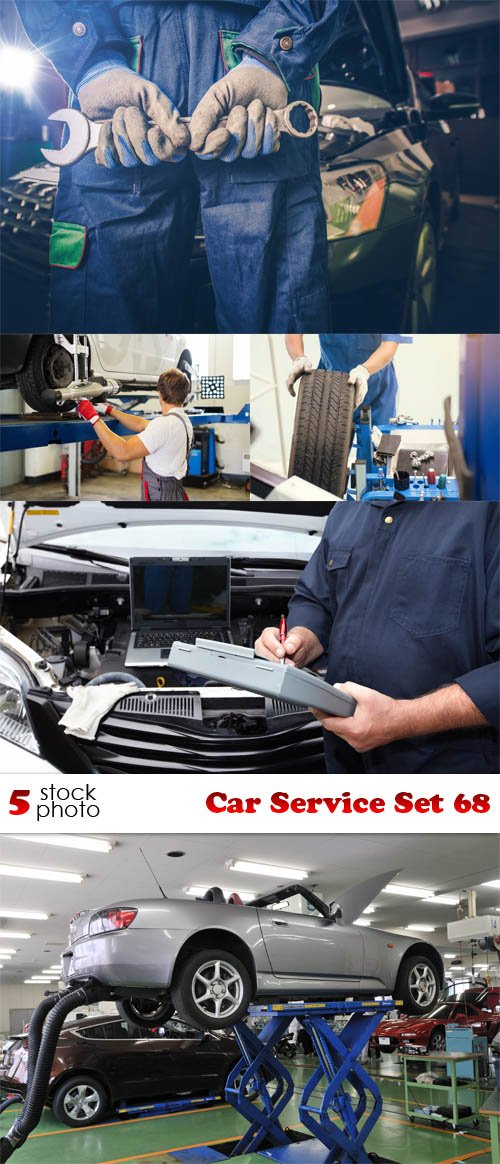 Photos - Car Service Set 68