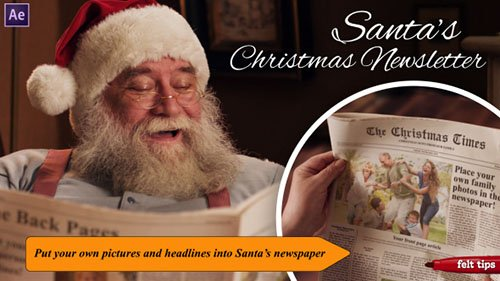 Santa's Christmas Newsletter - Project for After Effects (Videohive)