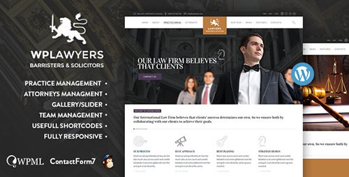 ThemeForest - Law Practice v1.6 - Lawyers Attorneys Business Theme - 9848545