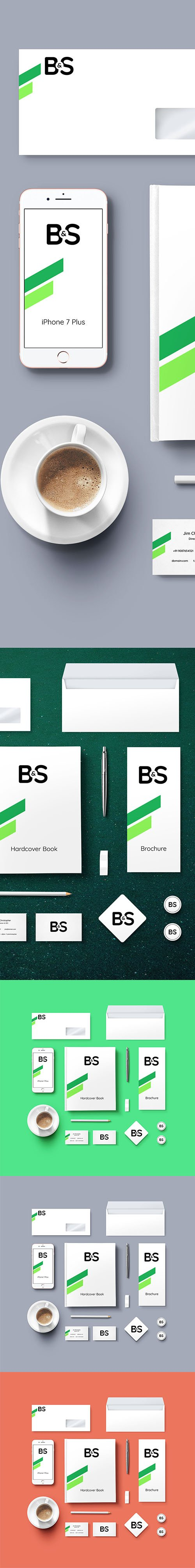 PSD Mock-Up - Branding And Stationery 2016