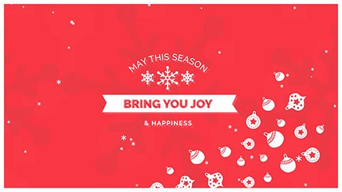 Videohive: Christmas Card 18919667 - Project for After Effects