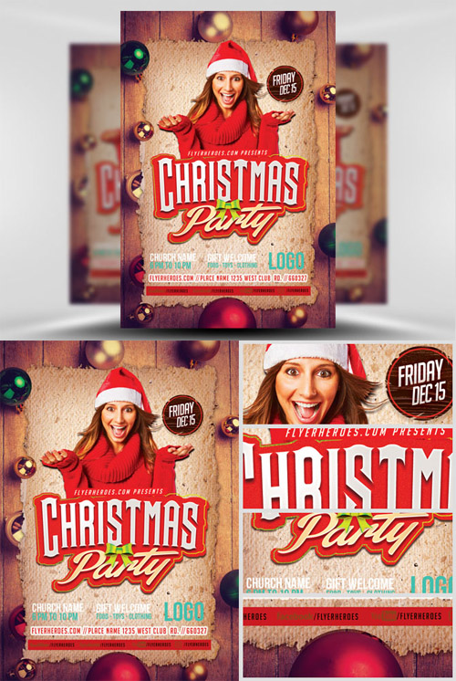 Flyer Template - Christmas Party