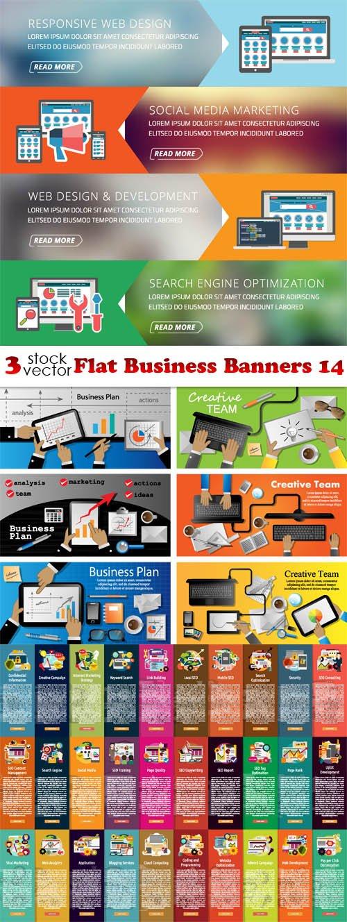 Vectors - Flat Business Banners 14