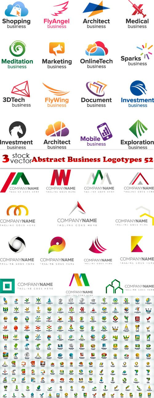 Vectors - Abstract Business Logotypes 52