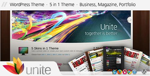 ThemeForest - Unite v2.2.3 - WordPress Business, Magazine Theme - 90959