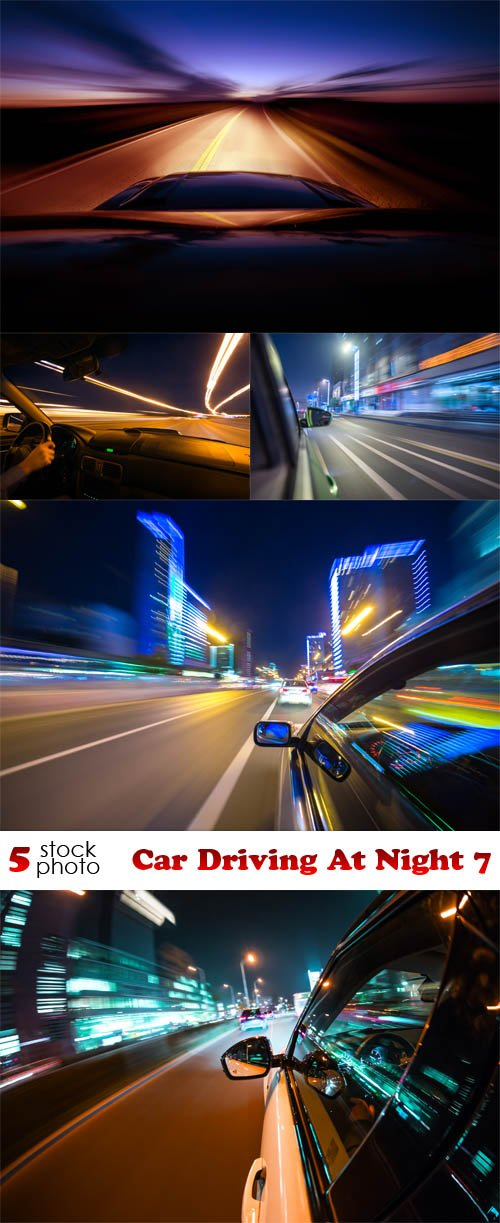 Photos - Car Driving At Night 7