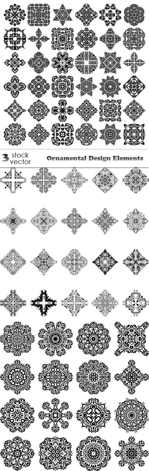 Vectors - Ornamental Design Elements