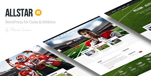 ThemeForest - AllStar v1.9 - WordPress Club Theme - 12804758