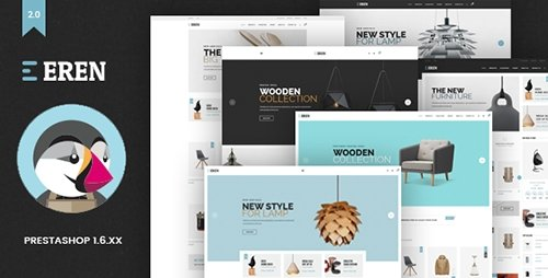 ThemeForest - Eren v1.0 - Responsive Prestashop Theme - 16811353