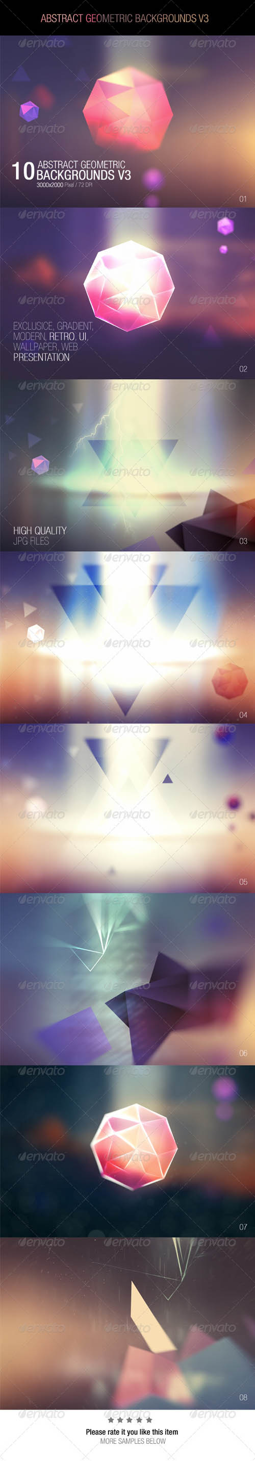Abstract Geometric Backgrounds V3 7710031