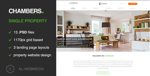 Chambers - Single Property PSD Template 15455874