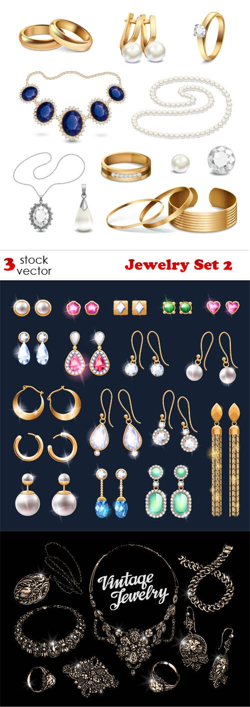 Vectors - Jewelry Set 2