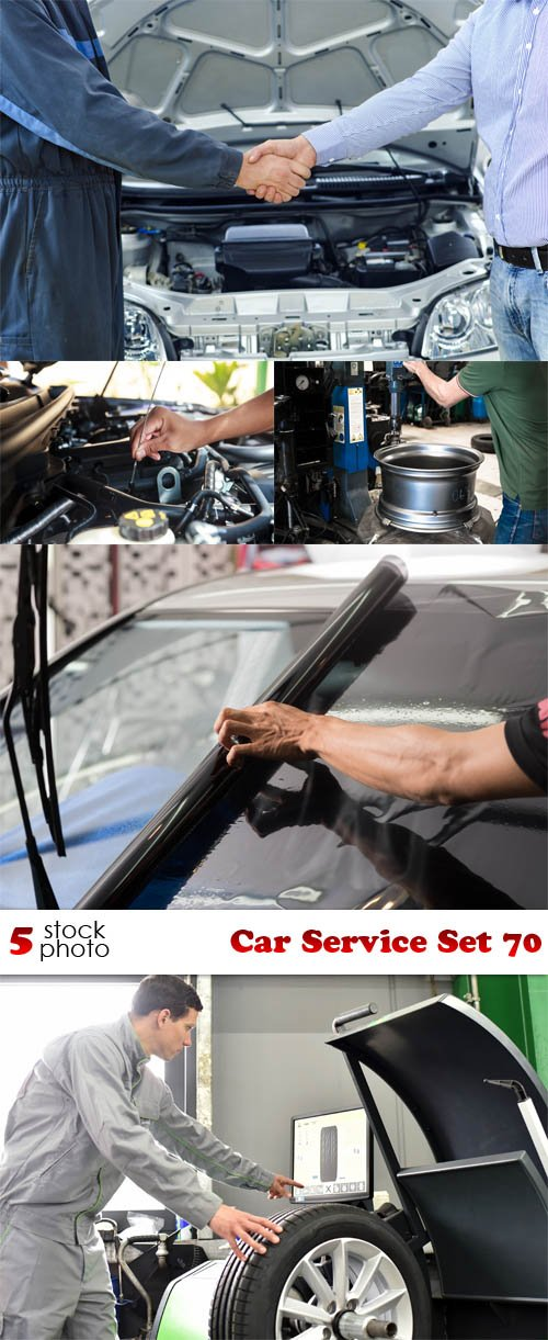 Photos - Car Service Set 70