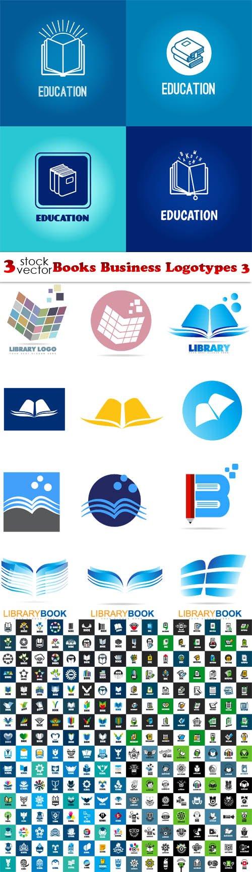 Vectors - Books Business Logotypes 3