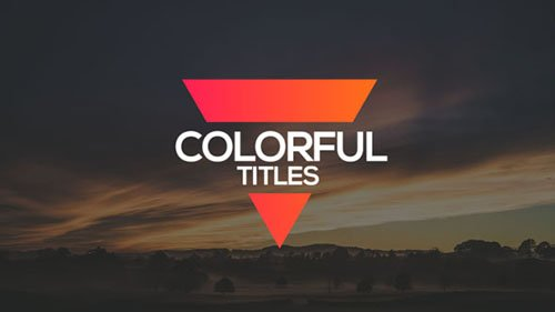 Colorful Titles 19152864 - Project for After Effects (Videohive)