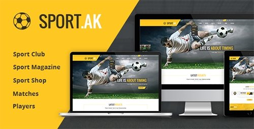 ThemeForest - SportAK v1.21 - Sport WordPress Theme for Football, Hockey, Basketball Club - 13467671