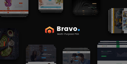 Bravo - Multi-Purpose PSD Template 17361644