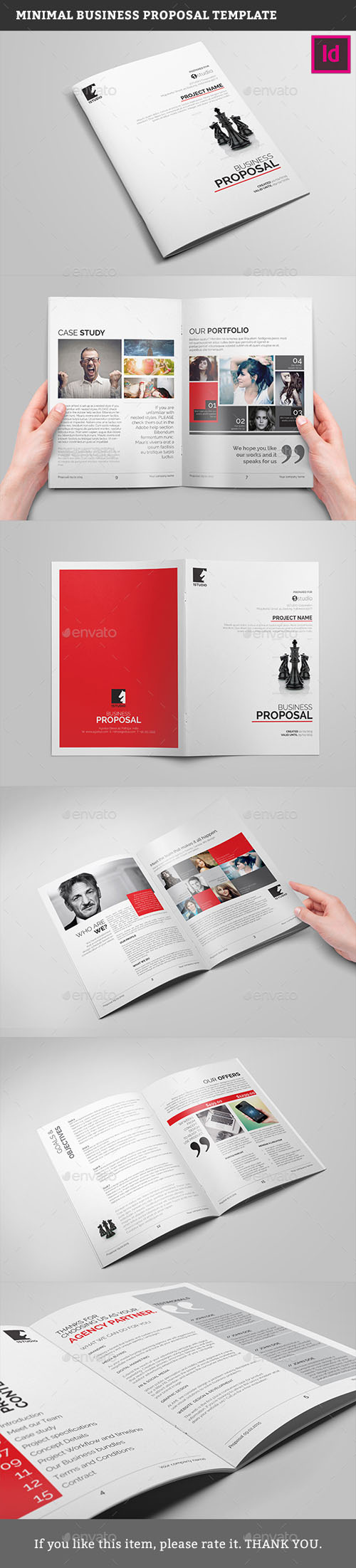 Minimal Business Proposal Template 13315555