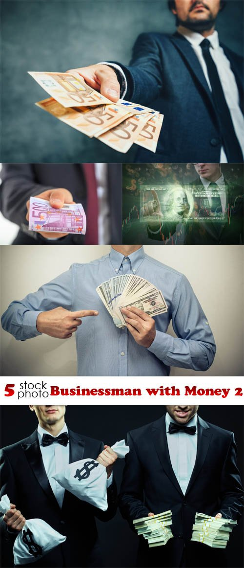 Photos - Businessman with Money 2
