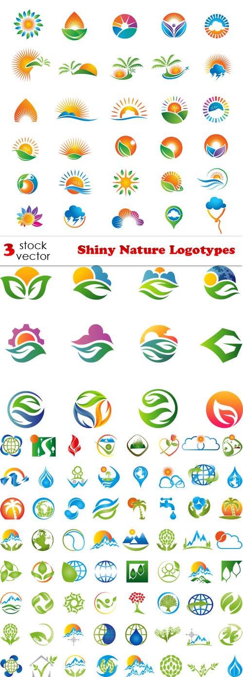 Vectors - Shiny Nature Logotypes