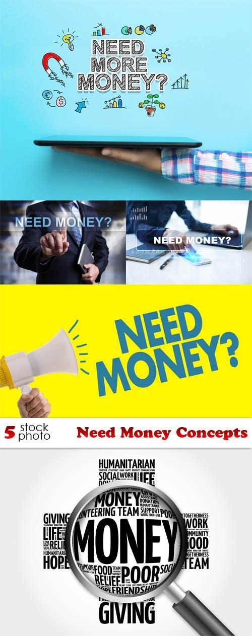 Photos - Need Money Concepts