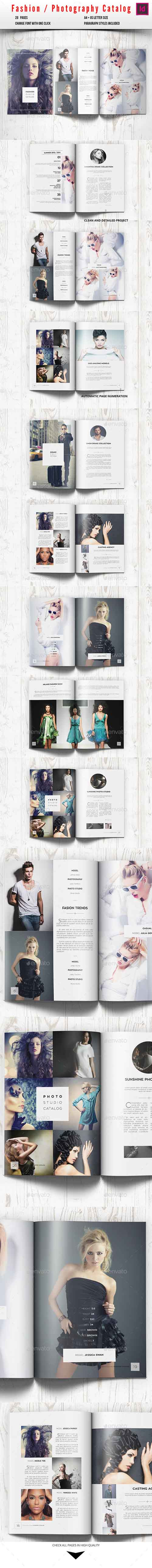 Fashion Photography Catalog / Brochure 10277338