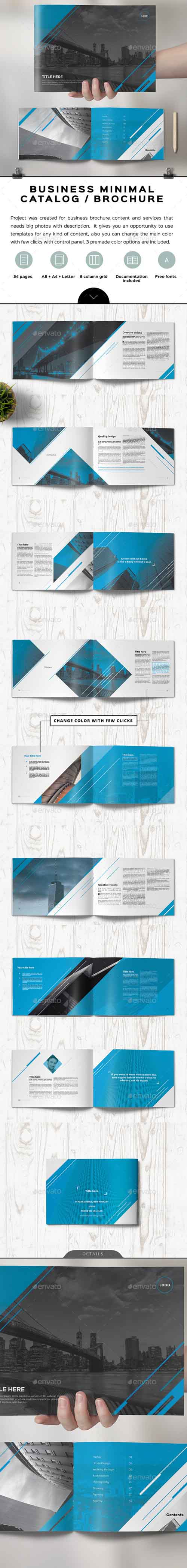 Unicado Business Minimal Brochure 15189567
