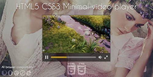 CodeGrape - Minimal Video Player v1.0 - 5875