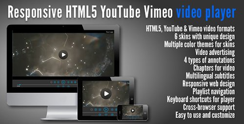 CodeGrape - Responsive HTML5 YouTube Vimeo Video Player - 15 June 15 - 6143