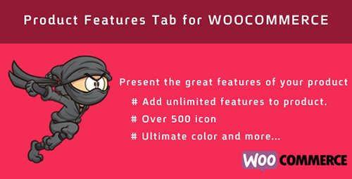 CodeGrape - WOO Product Features Tab v1.0 - 6278
