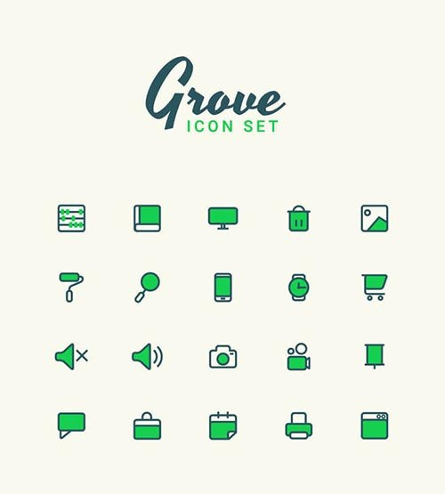 Ai Vector Icons - Grove