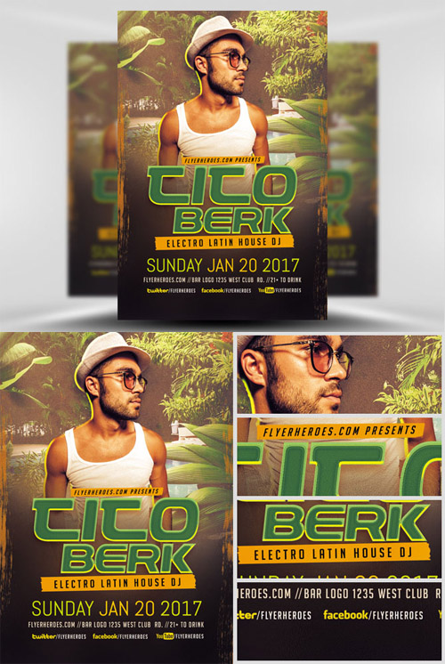 Flyer Template - Tito Berk