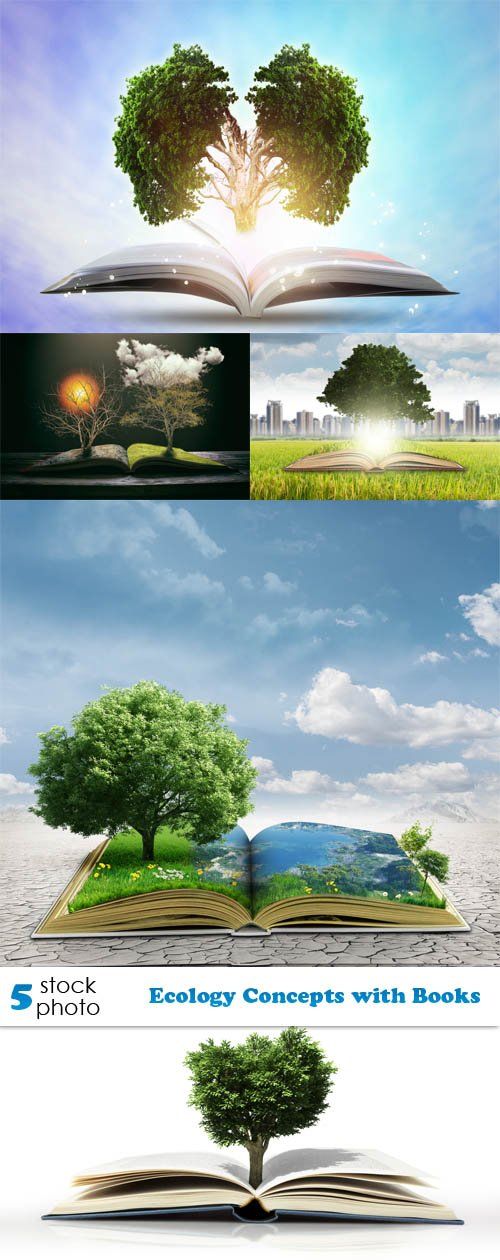 Photos - Ecology Concepts with Books