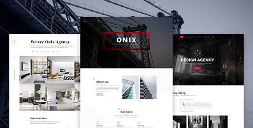 ThemeForest - Onix - Multi Purpose Architecture / Interior / Portfolio PSD Template 19260898