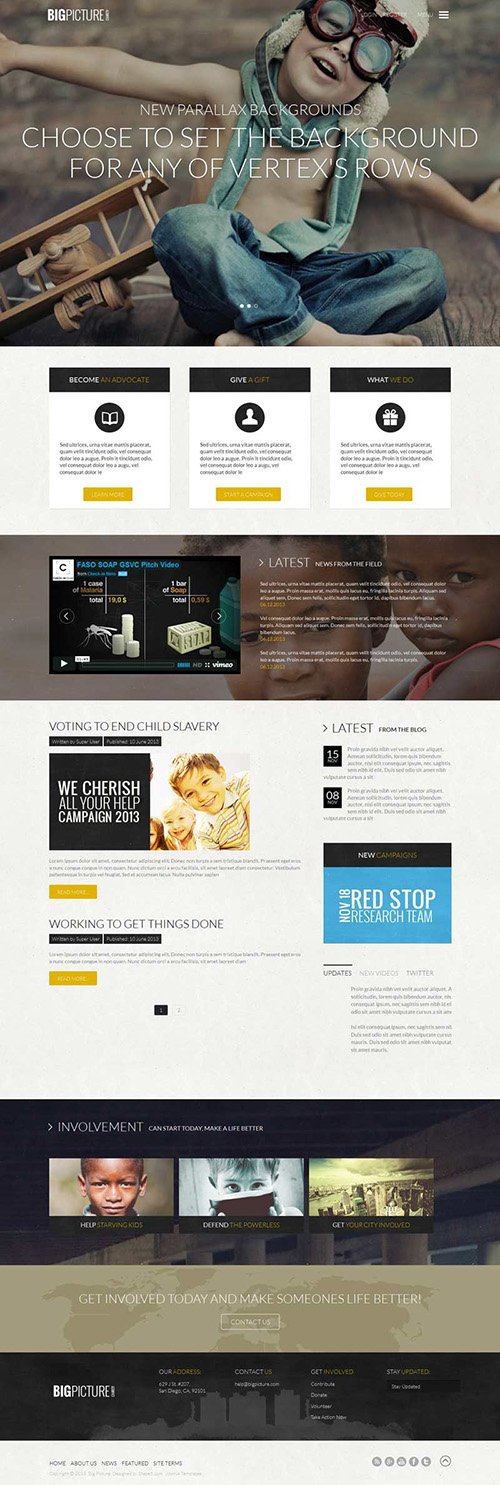 Shape5 - Big Picture v2.0 - Wordpress Club Theme