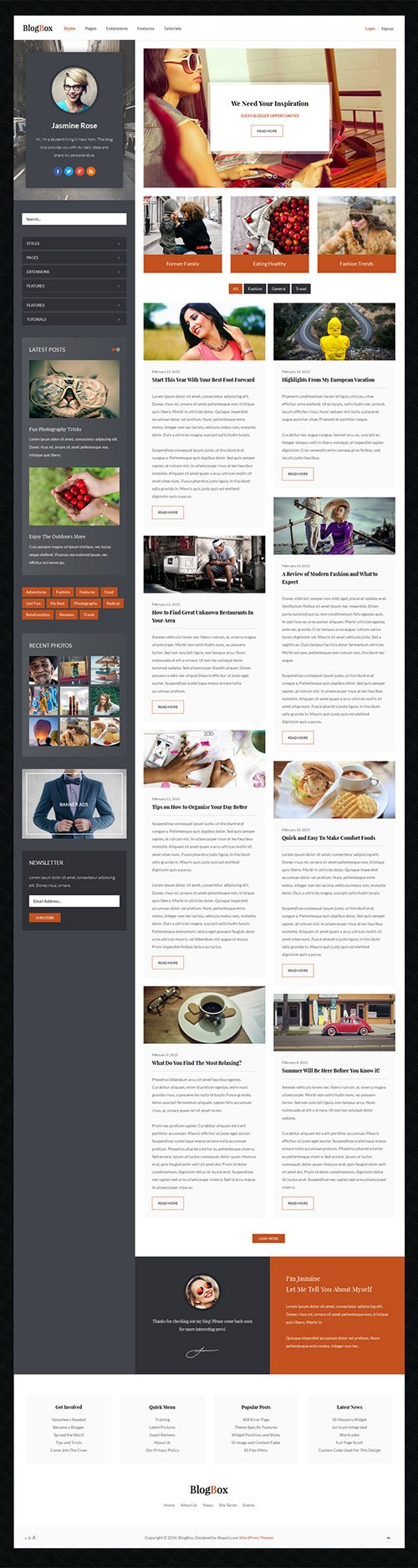 Shape5 - BlogBox v1.0 - WordPress Club Theme