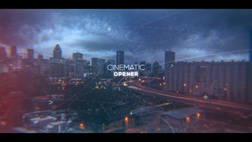 Cinematic Inspirational Parallax Opener | Slideshow - Project for After Effects (Videohive)