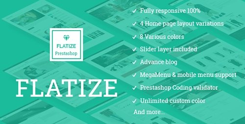 ThemeForest - JMS Flatize v1.1.0 - Fashion Responsive Prestashop Theme - 10321667