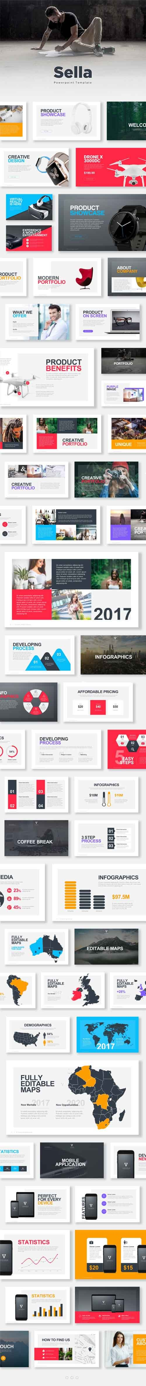GR - Sella Powerpoint Template 18036459