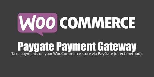 WooCommerce - Paygate Payment Gateway v1.3.1