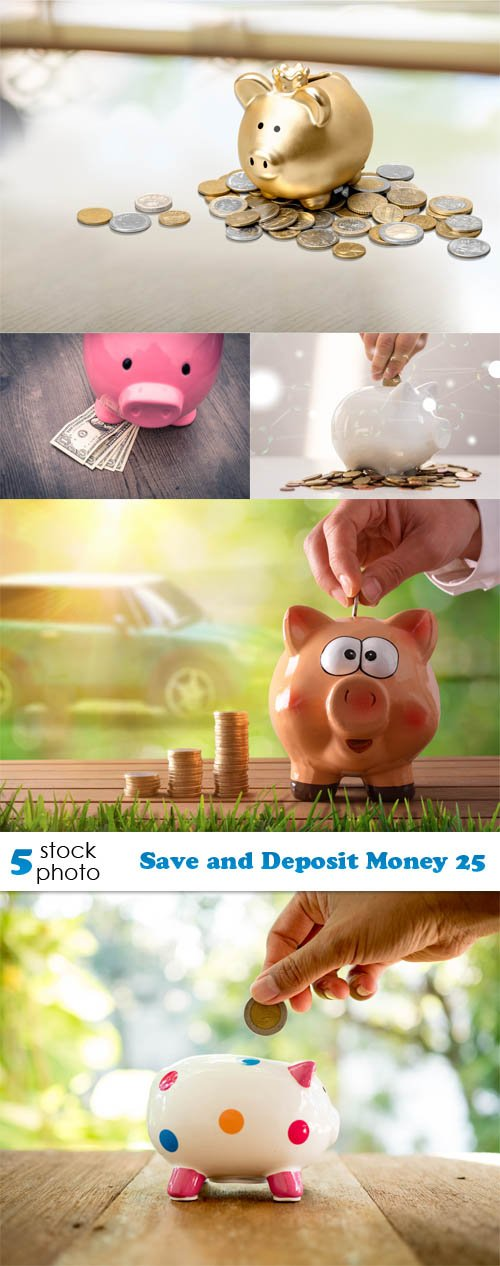 Photos - Save and Deposit Money 25