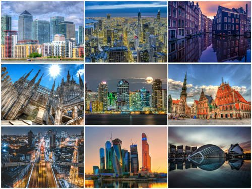 60 Beautiful Cityscapes HD Wallpapers 13