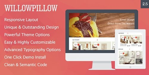 ThemeForest - WillowPillow v3.0.1 - High Conversion eCommerce Theme - 7840667