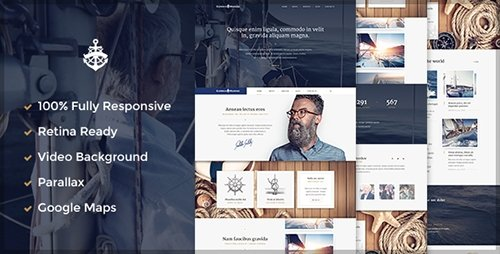 ThemeForest - Yacht - Marine HTML 5 Template (Update: 22 April 15) - 9405001