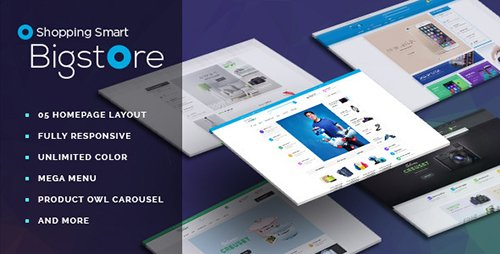 ThemeForest - Leo Big Store v1.6.1.4 - Prestashop Theme - 12013172