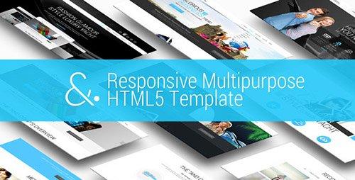 ThemeForest - And v1.0 - Responsive MultiPurpose HTML5 Template - 10181498