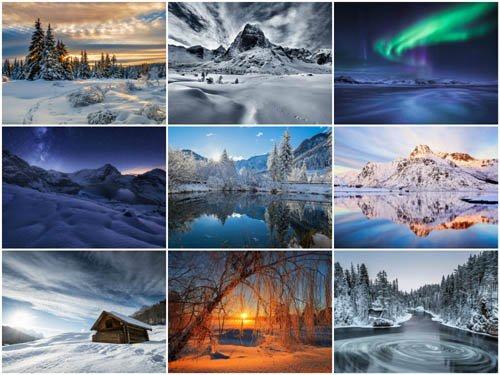 90 Winter Landscapes HD Wallpapers Set 2