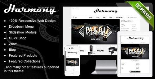 ThemeForest - Responsive Shopify Theme - Instruments Design v1.1 - 5251776